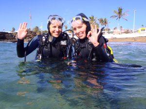 Centro de buceo en Lanzarote
